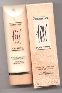 1881 Pour Femme Body Lotion Unboxed/Nino Cerruti