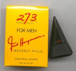 273 for Men Cologne Miniature 3.7ml/Fred Hayman, Beverly Hills
