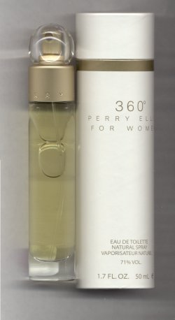 360 Degrees for Women Eau de Toilette Spray 50ml/Perry Ellis
