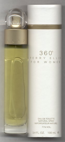 360 Degrees for Women Eau de Toilette Spray 100ml/Perry Ellis