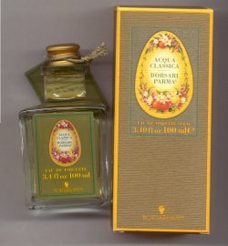 Acqua Classica (100ml) Eau de Toilette Spray/Borsari Parma, Italy