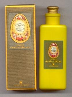Acqua Classica Hair Shampoo/Borsari Parma, Italy