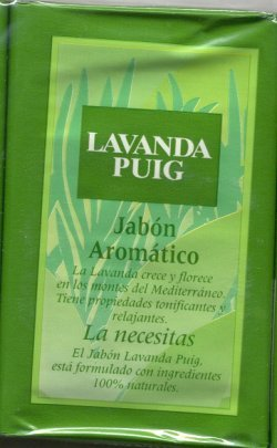Agua Lavanda Hard Mill Soap/Puig