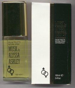 Musk by Alyssa Ashley Eau de Toilette Spray 100ml/Alyssa Ashley