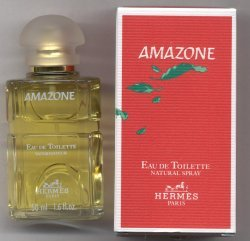 Amazone Eau de Toilette Spray 50ml/Hermes