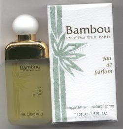 Bambou Eau de Parfum Spray 75ml/Weil, Paris