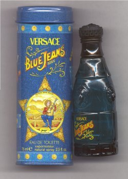 Blue Jeans for Men Eau de Toilette Spray 75ml/Versace