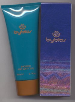 Byblos Bath and Shower Gel Original Formula/Diana de Silva, Italy