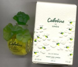 Cabotine Deluxe Bottle Eau de Parfum Splash 30ml/Parfums Gres, Paris