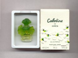 Cabotine Eau de Parfum Miniature 3.2ml/Gres, Paris