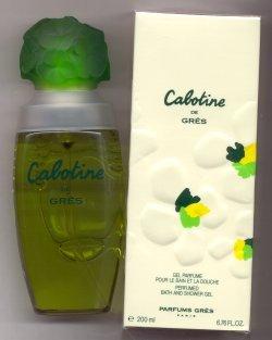 Cabotine Bath and Shower Gel/Parfums Gres