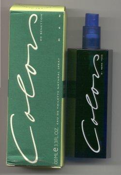 Colors for Men Eau de Toilette Spray 100ml/Benetton
