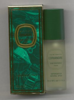 Coriandre Eau de Toilette Spray 33ml/Jean Couturier, Paris