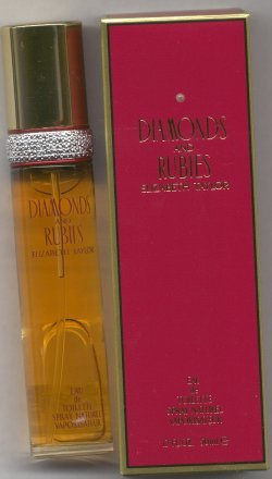 Diamonds and Rubies Eau de Toilette Spray 50ml/Elizabeth Taylor