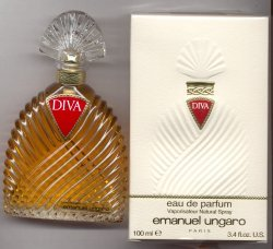 Diva Eau de Toilette Spray 100ml/Emanuel Ungaro