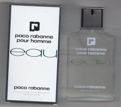 EAU Paco Rabanne Pour Homme 100ml Edt Spray/Paco Rabanne