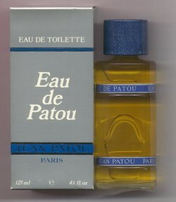 Eau de Patou Eau de Toilette Splash 125ml Box Worn/Jean Patou, Paris France