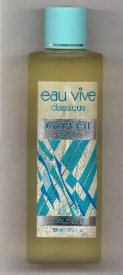 Eau Vive Classique Cologne Splash 500ml/Carven