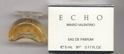 Echo Eau de Parfum 5ml Miniature/Mario Valentino
