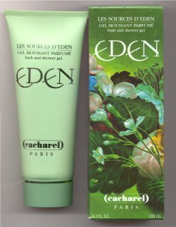 Eden Perfumed Bath & Shower Gel 200ml/Cacharel