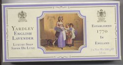 Yardley English Lavender Luxury Soap Set/Yardley of London
