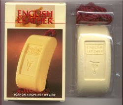 English Leather Soap on a Rope/Mem Company