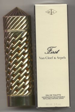 First Eau de Toilette Spray 90ml Refillable/Van Cleef and Arpels