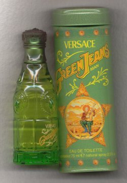 Green Jeans for Men Eau de Toilette Spray 75ml/Versace