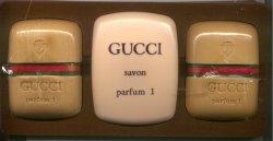 Gucci #1 Hard Mill Soap Set/Gucci Parfum1