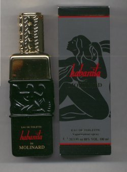 Habanita Eau de Toilette Spray 100ml/Molinard, Paris