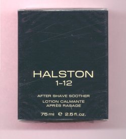 Halston I-12 After Shave Soother Balm Unboxed/Halston