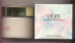 Hope Body Cream Older Packaging/Frances Denney