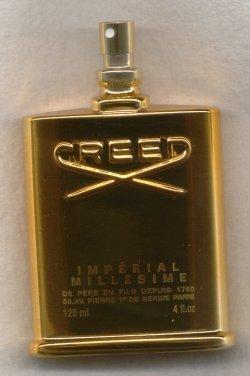 Imperial Eau de Toilette Spray 120ml Tester Gold Bottle/Creed