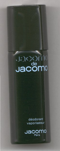 Jacomo de Jacomo Deodorant Spray for Men/Jacomo, Paris