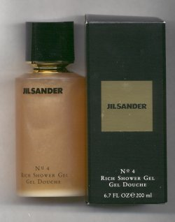 Jil Sander No. 4  Bath & Shower Gel 200ml/Jil Sander, Paris