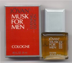 Jovan Musk for Men Original Evening Edition Cologne 25ml Splash/Jovan