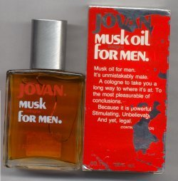 Jovan Musk Oil Cologne Splash for Men 60ml/Jovan