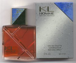 KL Homme for Men Tester Used 1/2 Full Eau de Toilette Spray 60ml/Karl Lagerfeld