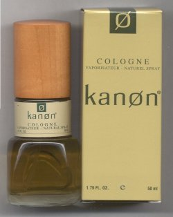 Kanon for Men Cologne Spray 50ml/Kanon Fragrance Group, Inc.