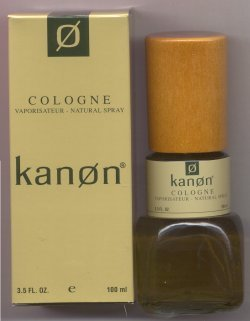 Kanon for Men Cologne Spray 100ml/Kanon Fragrance Group, Inc.