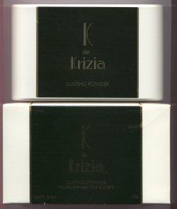 K de Krizia Perfumed Dusting Powder/Krizia, Italy