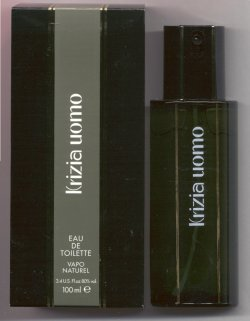 Krizia Uomo for Men Eau de Toilette Spray 100ml/Krizia