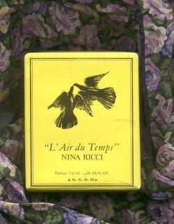 L'Air du Temps Parfum 29ml Flacon Cristal Lalique/Nina Ricci