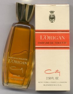 L'Origan Parfum de Toilette Splash 75ml/Coty