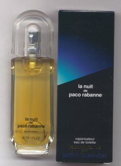 La Nuit Eau de Toilette Spray 30ml/Paco Rabanne