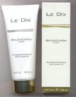Le Dix Gentle Foaming Bath & Shower Gel 200ml/Balenciaga, Paris