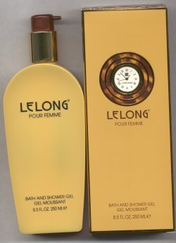 LeLong Pour Femme Bath and Shower Gel/Lucien LeLong Parfums, Paris