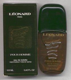 Leonard Pour Homme Tester, Unboxed No Cap/Leonard Parfums, Paris