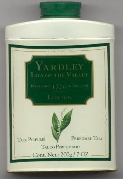 Yardley Lily of the Valley Perfumed Talc Powder/Yardley of London