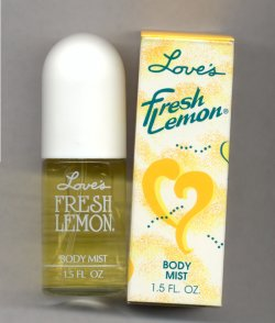 Love's Fresh Lemon Cologne Spray 20ml/Love's
